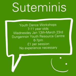 Suteminis Youth Dance Workshops