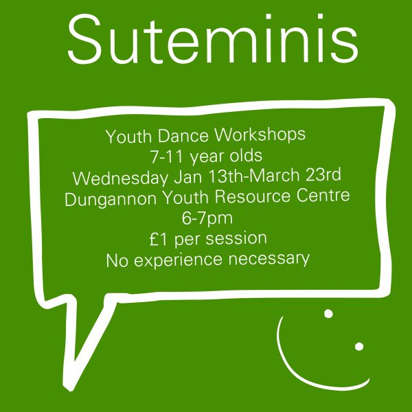 Suteminis Youth Dance Workshops