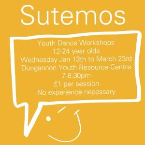 Sutemos  Youth Dance Workshops  DU Dance NI