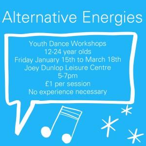 Alternative Energies Youth Dance Workshops DU Dance NI